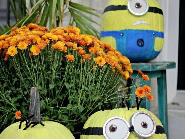 Minion Pumpkin Minions Pinterest