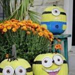 Minion Pumpkins Yes Home Pinterest