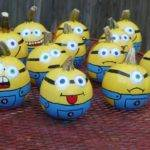 Minions Painted Pumpkins Pinterest
