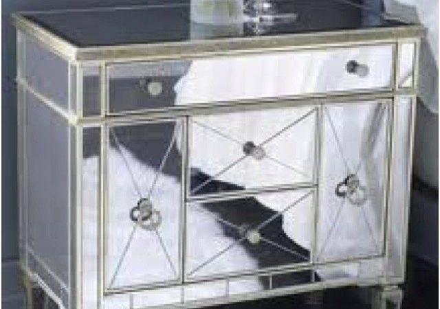 Mirrored Furniture Ideas House Pinterest