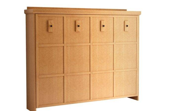 Mission Horizontal Murphy Bed Wall Factory