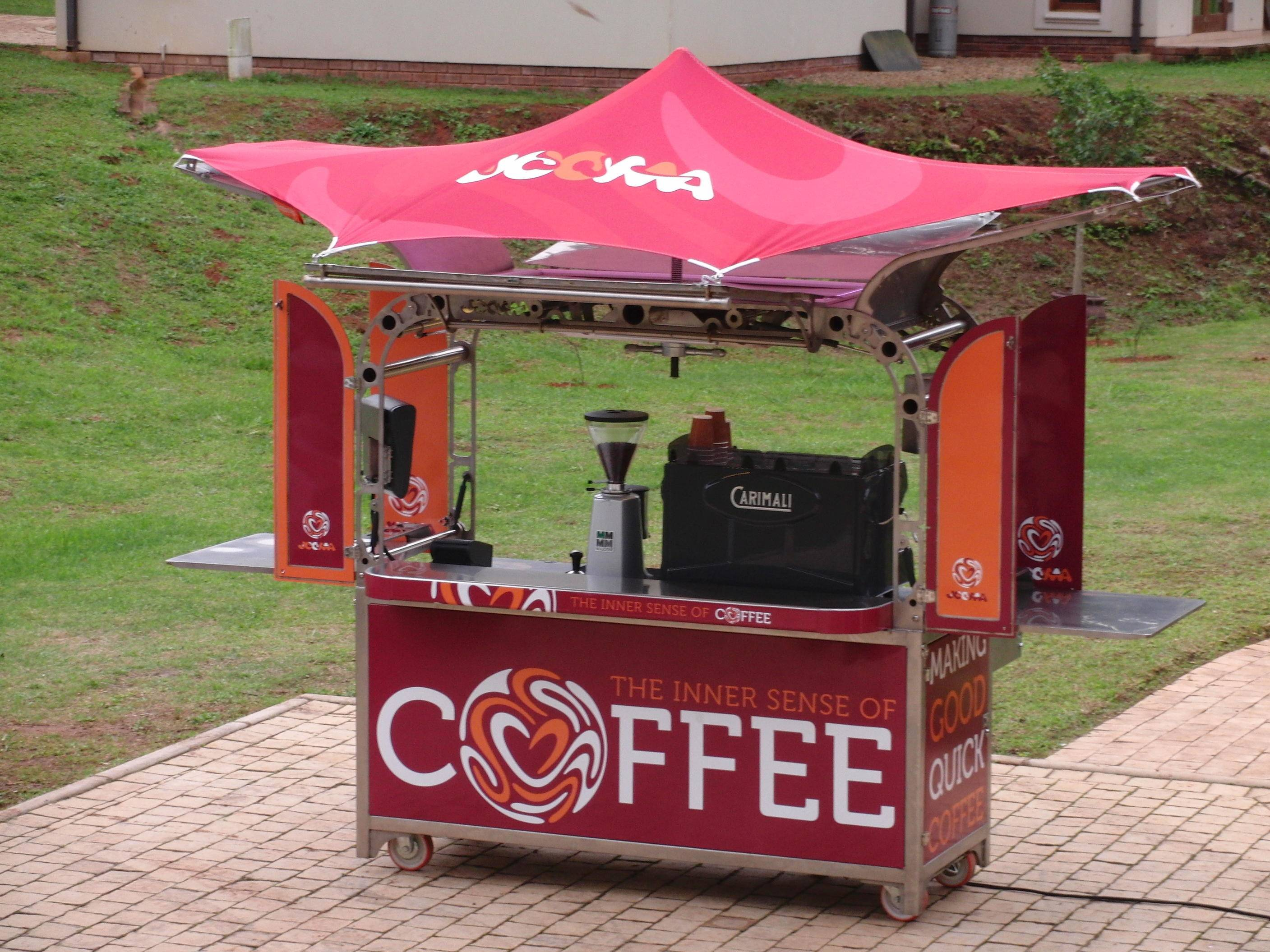 Mobile Coffee Station