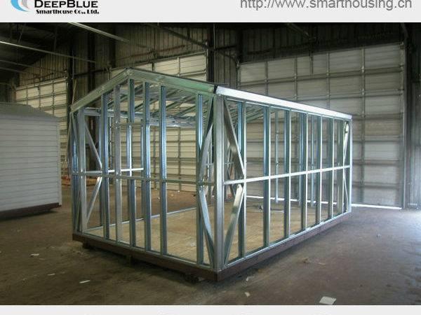 Mobile Steel Frame Kit Home Deepblue