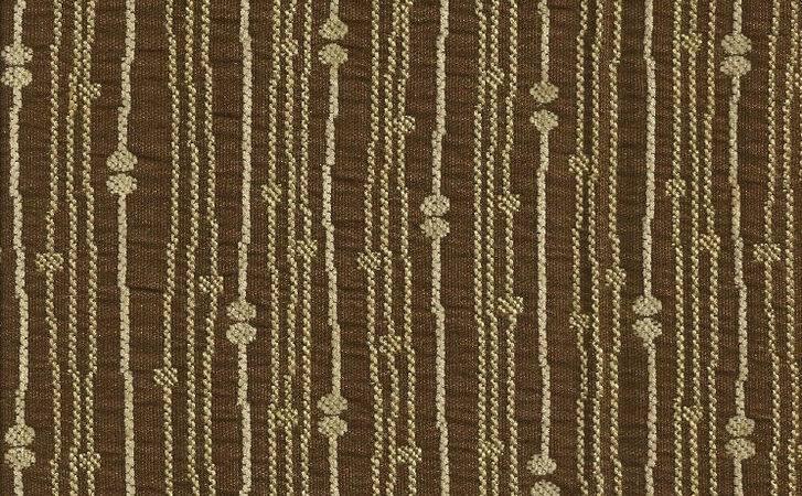 Mocha Tan Modern Contemporary Stripes Upholstery Drapery