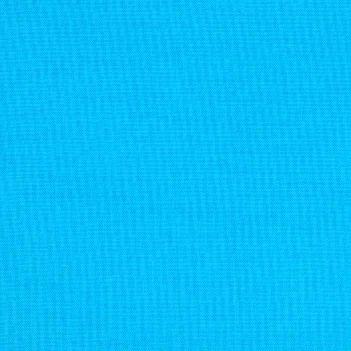 Moda Bella Broadcloth Bright Turquoise Discount Designer Fabric