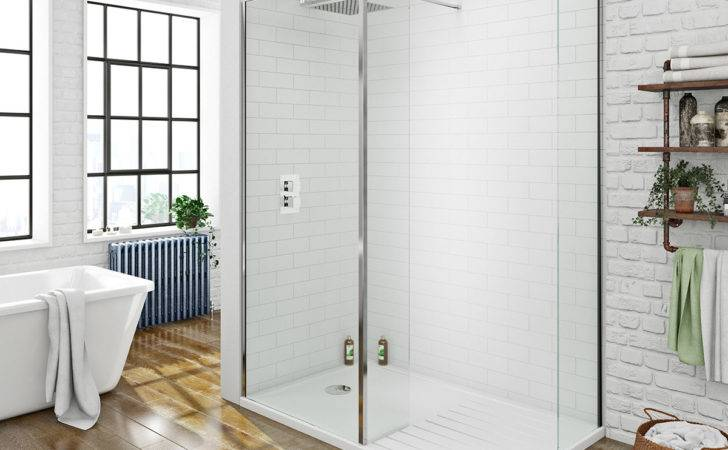 Mode Luxury Walk Shower Enclosure Tray