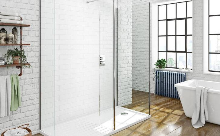 Mode Spacious Luxury Sided Walk Shower Enclosure Tray