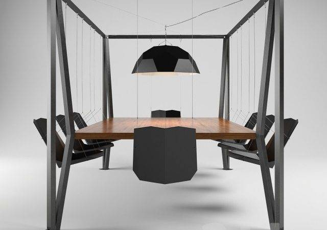 Models Table Chair Swing