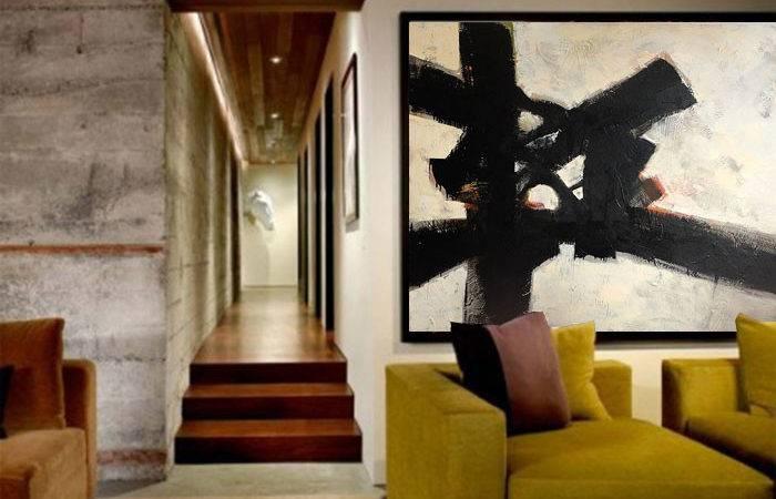 Modern Abstract Impressionist Paintings San Francisco Artist Myke