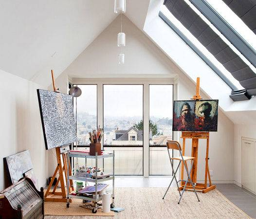 Modern Art Studio Design Home Ideas
