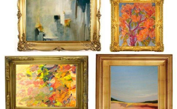 Modern Art Traditional Frames