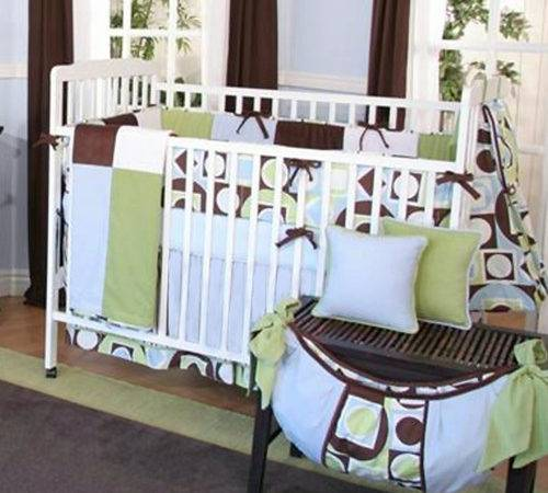 Modern Baby Boy Piece Crib Bedding Set