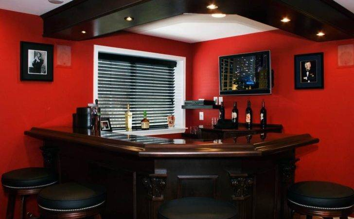 Modern Bar Designs Small Spaces