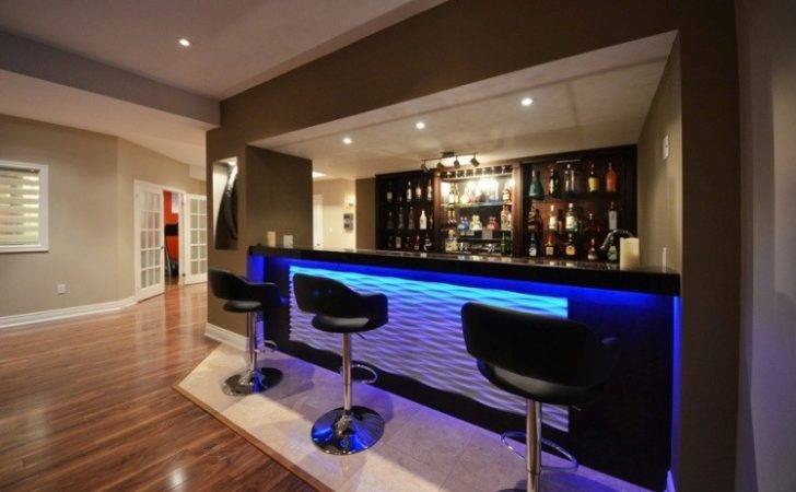 Modern Bar Ideas Basements