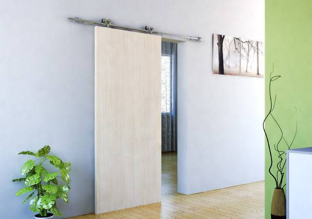 Modern Barn Door Hardware Wood Contemporary