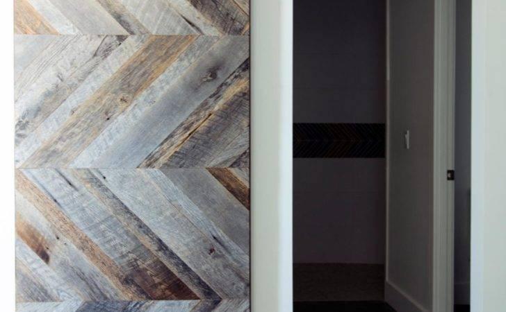 Modern Barn Door Krownlab Baldur Black Stainless Steel Glass Mount