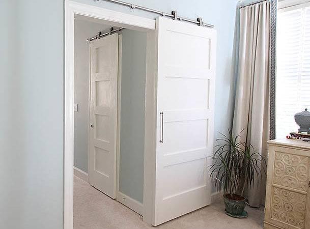 Modern Barn Doors Easy Solution Awkward Entries