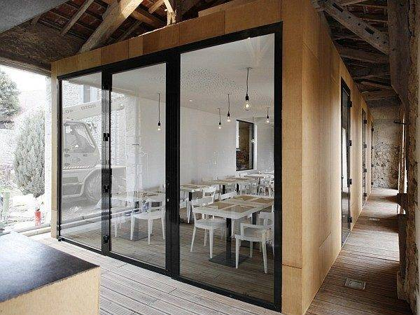 Modern Barn House Slides Different Panoramas Design