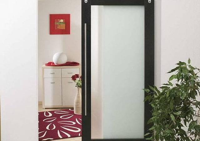 Modern Barn Style Wood Sliding Door System Contemporary Interior Doors