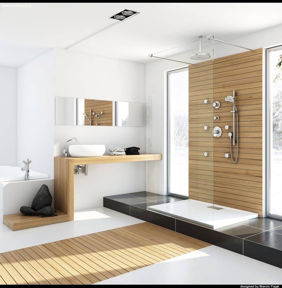 Modern Bathrooms Spa Like Appeal