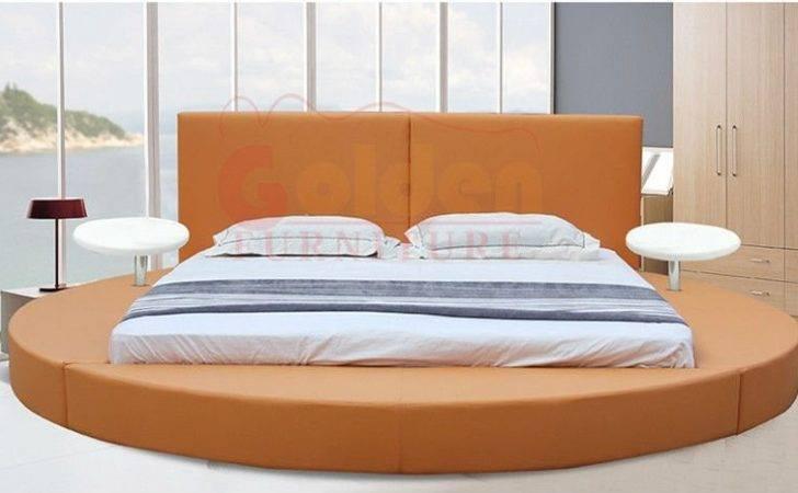 Modern Bedroom Set Furniture Round Bed Buy