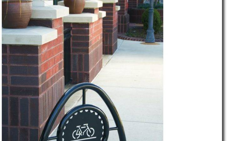 Modern Bike Rack Brochure Cover