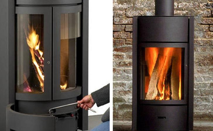 Modern Black Exclusive Wood Burning Stove Designs Stuv Iroonie