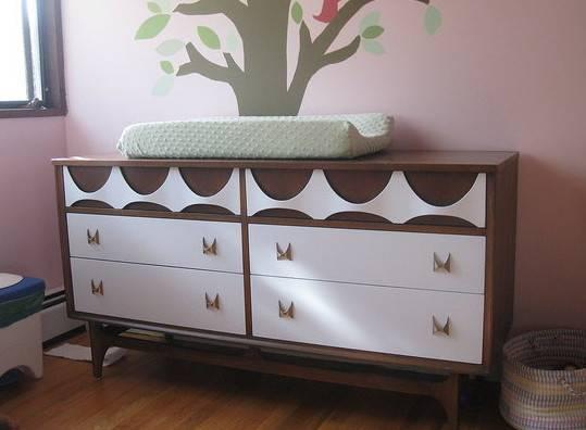 Modern Blog Painting Vintage Mid Century Furniture