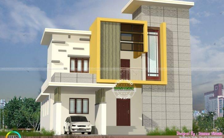 Modern Box Type Residence Kerala Home Design Floor Plans