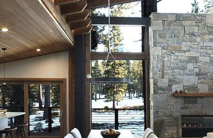 Modern Cabin Interior Pinterest Interiors Cabins