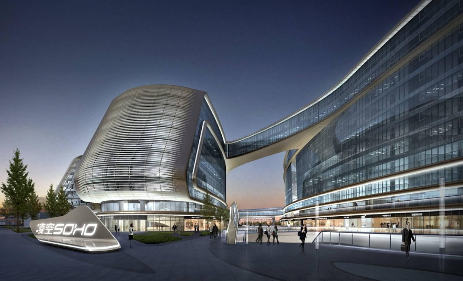 Modern Cabinet Futuristic Sky Soho Zaha Hadid