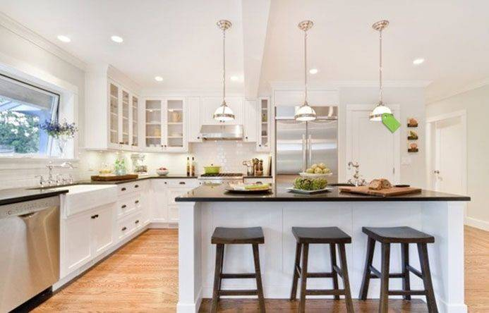 Modern Cape Cod Open Plan Kitchen Pinterest