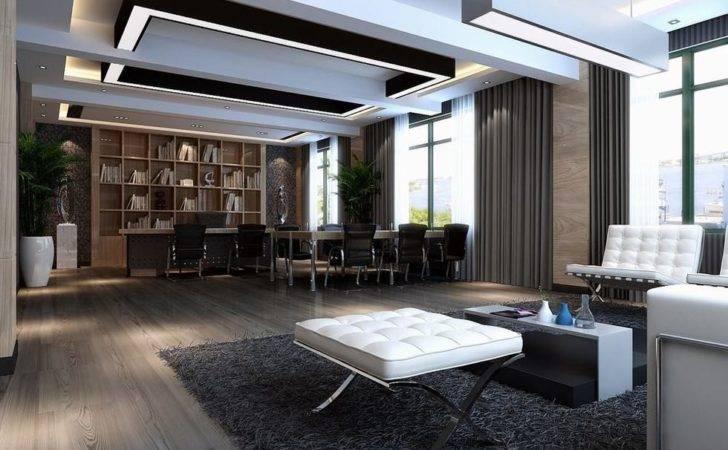 Modern Ceo Office Interior Design Executive