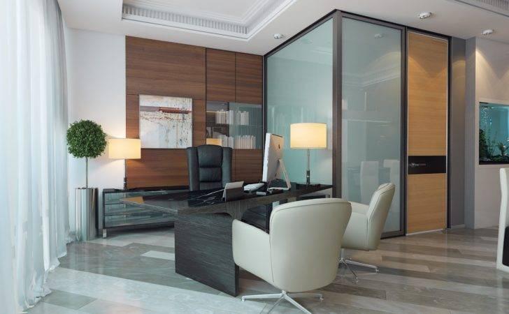 Modern Ceo Office Interior Design Luxury Ideas