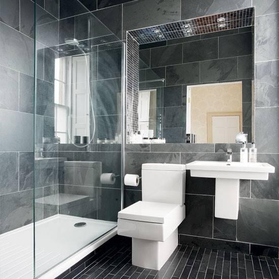 Modern Charcoal Grey Bathroom Designs Ideal
