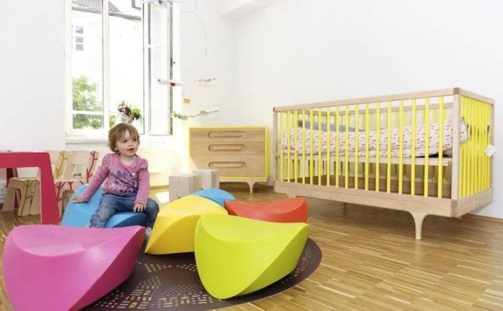 Modern Children Furniture Caravan Crib Contemporary Colorful