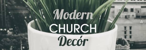 Modern Church Dec Stage Design Ideas