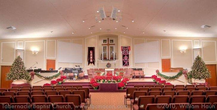 Modern Church Decor Christmas Decorations Interior