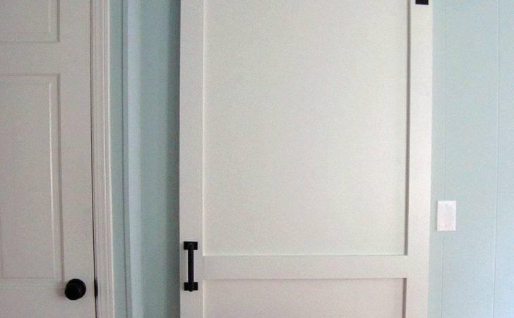 Modern Classic Panel Barn Door