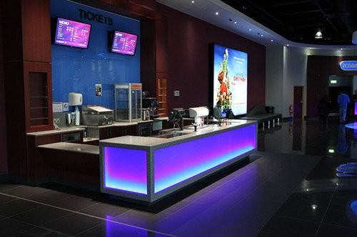 Modern Commercial Bar Furniture Led Counter