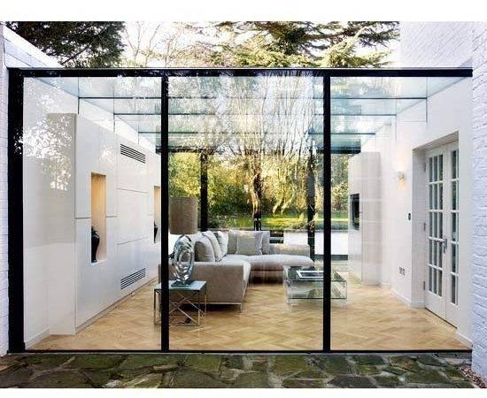 Modern Conservatory Pinterest Glass Extension