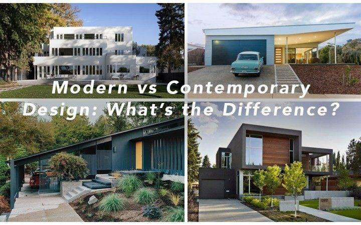 Modern Contemporary Design Difference