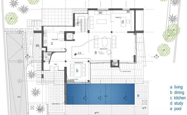 Modern Contemporary Home Floor Plans Large Homes