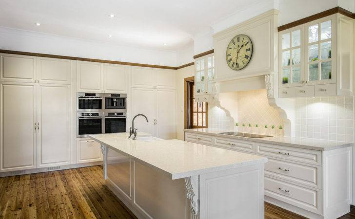 Modern Contemporary Kitchen Brisbane Caesar Stone Tops Year Ago
