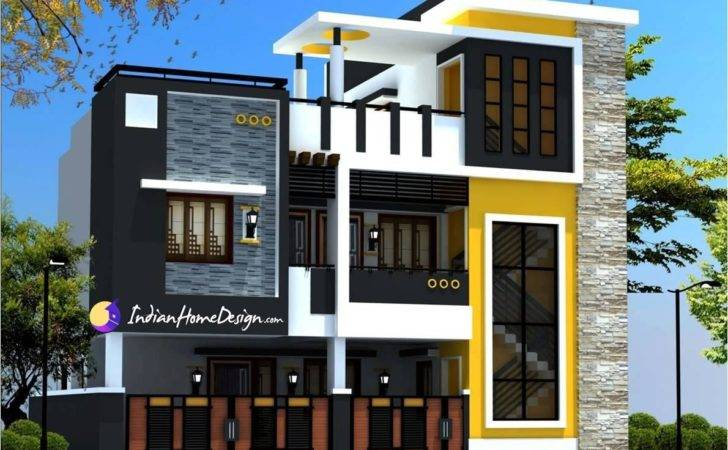 Modern Contemporary Style Two Floor Chennai Home Design