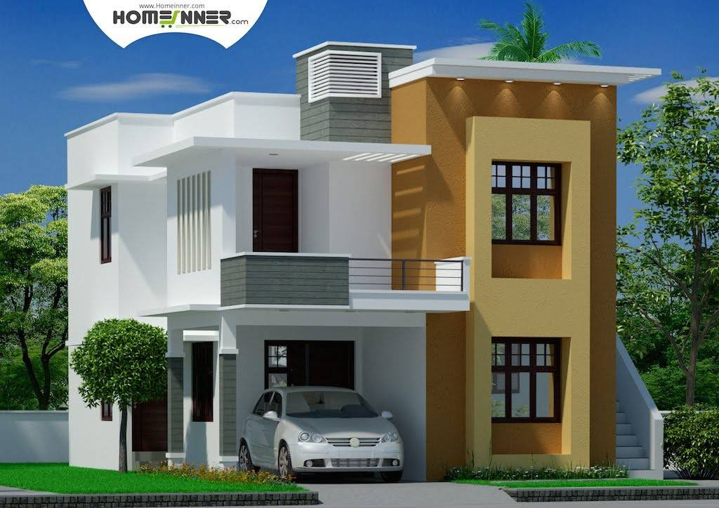 Modern Contemporary Tamil Nadu Home Design Indianhomedesign