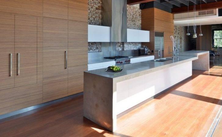 Modern Countertops Unusual Material Concrete
