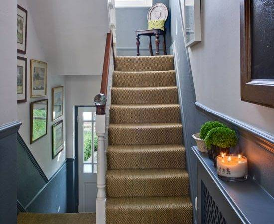 Modern Country Style Best Paint Colours Small Hallways