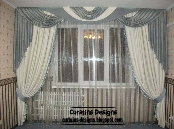 Modern Curtain Ideas Bedroom Window Curtains Arched Windows