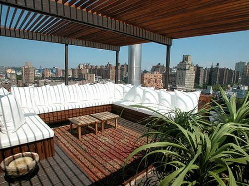 Modern Design Rooftop Terrace Apartment Ochsdesign